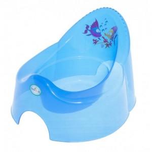 Горшок Tega Aqua AQ-001 blue transperent