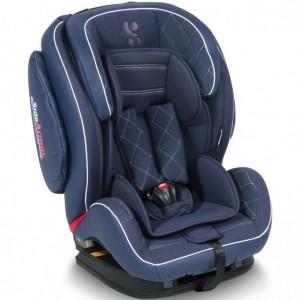 Автокресло Bertoni MARS ISOFIX (9-36кг) (dark blue leather)
