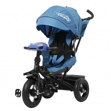 Велосипед трехколесный TILLY CAYMAN T-381 Синий с усиленной рамой и пультом/1/