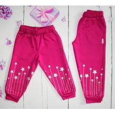 Спортивные брюки на девочку на 1-4 года (004460)