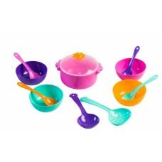 Набор игрушечной посуды столовый Ромашка 12 элементов (39143)
