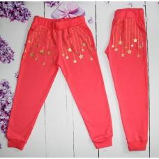 Спортивные брюки на девочку на 5-8 лет (004462)