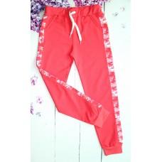 Спортивные брюки на девочку на 9-12 лет (004463)