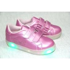 Кроссовки светящиеся р 22-25 ( 9907)