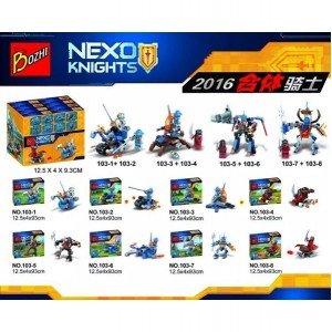 "Конструктор Bozhi ""Nexo Knights"" (103 1-8)"