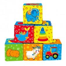 Набір кубиків Мій маленький світ (МС 090601-01