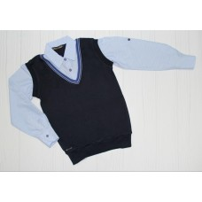 Рубашка на рост 128 см , 140 см, 152 см, 164 см (6789)