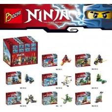 "Конструктор BOZHI ""Ninja"" (101 1-8)"