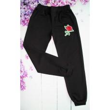Спортивные брюки на девочку на 13-16 лет (004466)
