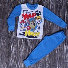 Пижама на мальчика на флисе на 2-6 лет (1054)