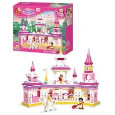 "Конструктор Sluban ""Розовая мечта - Замок для принцессы"" (M38-B0251)"