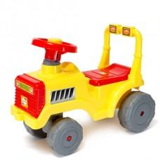 Машинка для катання БЕБІ ТРАКТОР лимон (931)