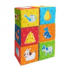 Набір кубиків Тваринки на фермі (МС 090601-05)