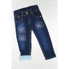 Утепленные джинсовые брюки ( 6835)