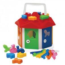 """Развивающая игрушка сортер - Куб """"Розумний малюк"""" (2438)"""
