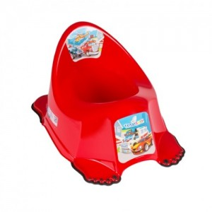 Горшок антискольз. Tega Cars CS-001 red