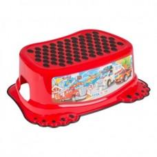 Подставка для ног антискользящая Tega Cars CS-006 red